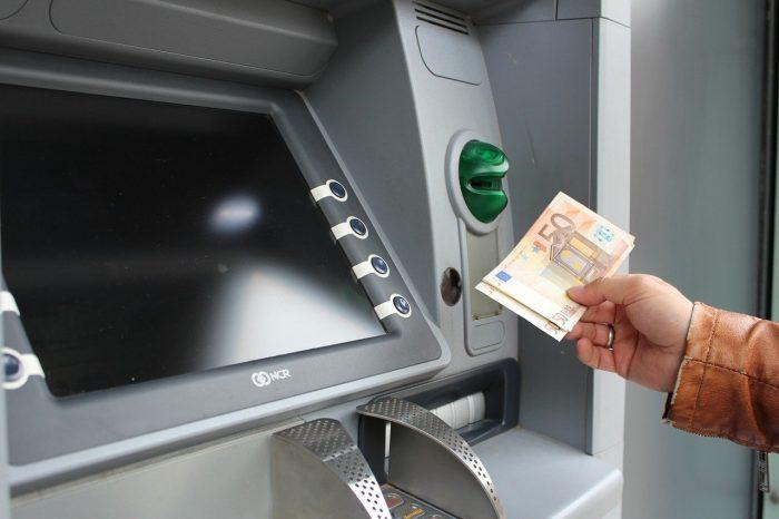 Uttagautomat med Euro