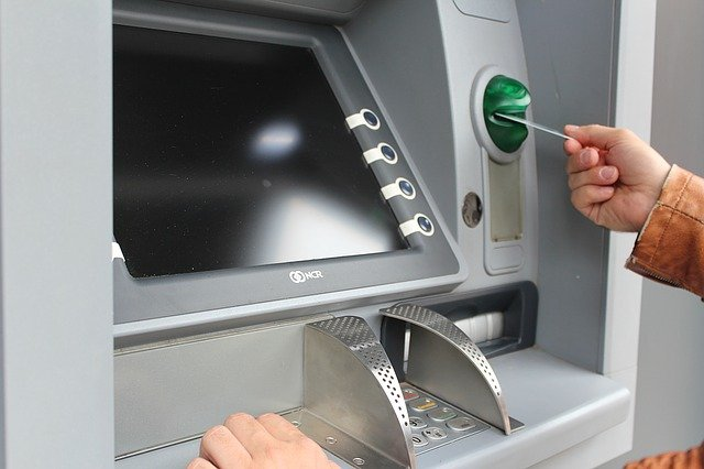 Bankomat utomlands (ATM)